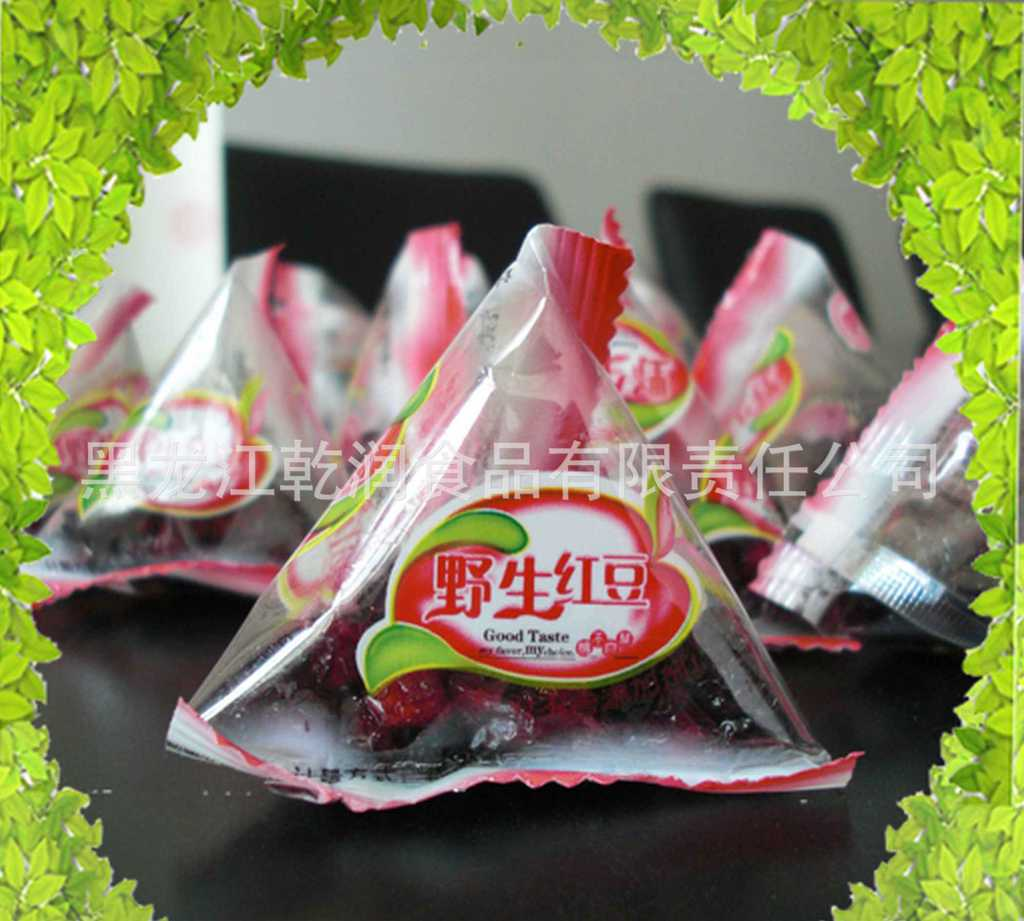 乾潤野生紅豆果果干 1千克袋裝