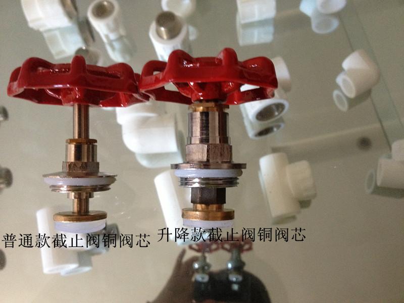 廠家熱銷衛生環保PPR截止閥帶蓋帽不漏水