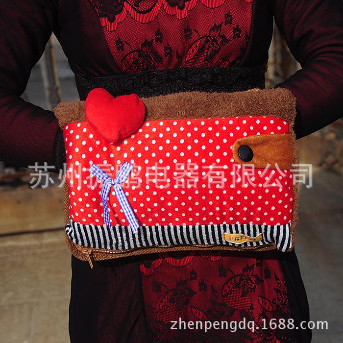 振鹏三层双插手电热水袋电暖袋暖水袋电热宝电暖宝暖手宝厂家直销