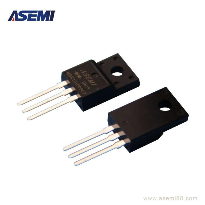 MBR10100FCT-ASEMI-斜面